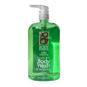 Body Essense Cucumber Melon Ultra Moisturizing Body Wash 28 oz Front