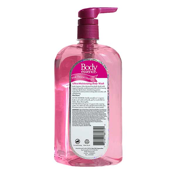 Body Essence Pink Passion Mango Body Wash
