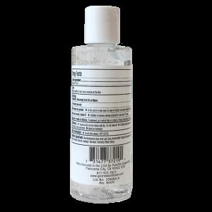 GenRx Hand Sanitizing Gel, 4 Fluid Ounces Back