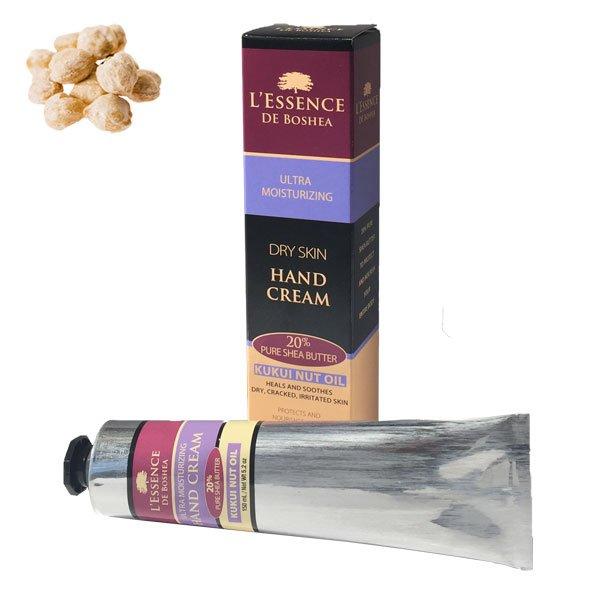 L'Essence De Boshea Kukui Nut Oil Hand Cream (5 oz.)