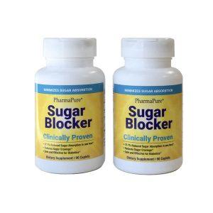 PharmaPure Sugar Blocker,90 Count, 2 Pack, Front of Bottle